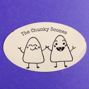 chunky-scones